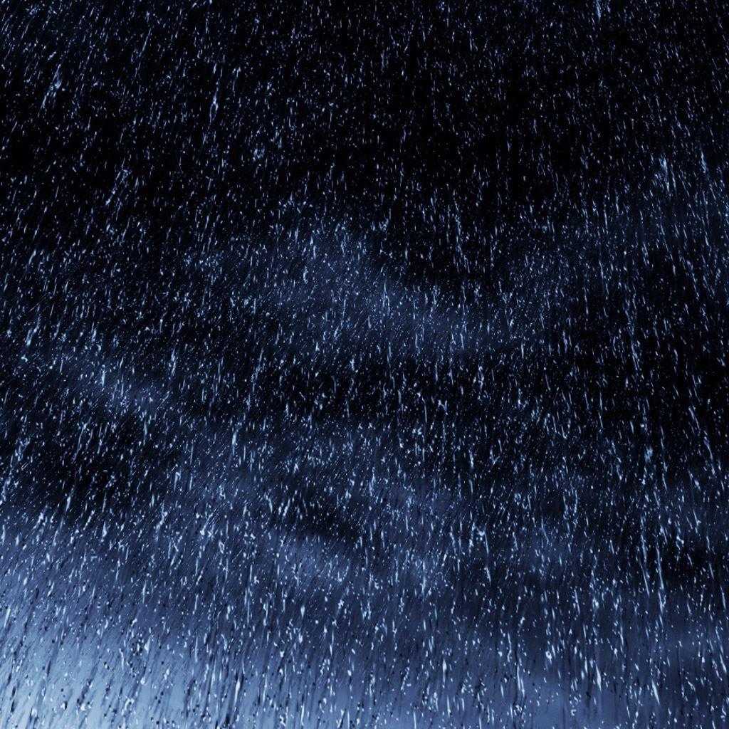 Rain Fall iPad wallpaper