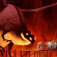 Dragon Crossing iPad wallpaper