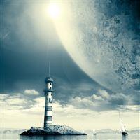 Lighthouse iPad wallpaper