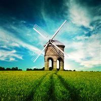 Windmill iPad wallpaper