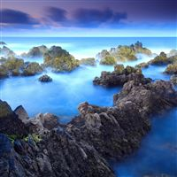 Blue Water iPad wallpaper