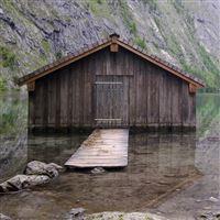 Boathouse iPad wallpaper