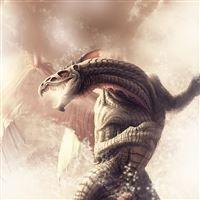 Mythical Dragon iPad wallpaper
