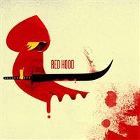 Red Hood iPad wallpaper