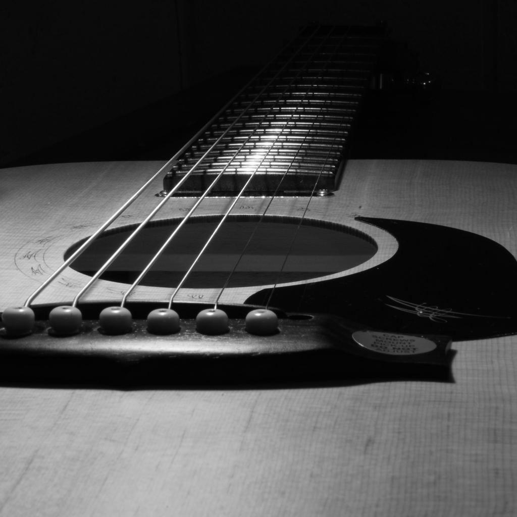 Guitar Closeup IPad Wallpaper