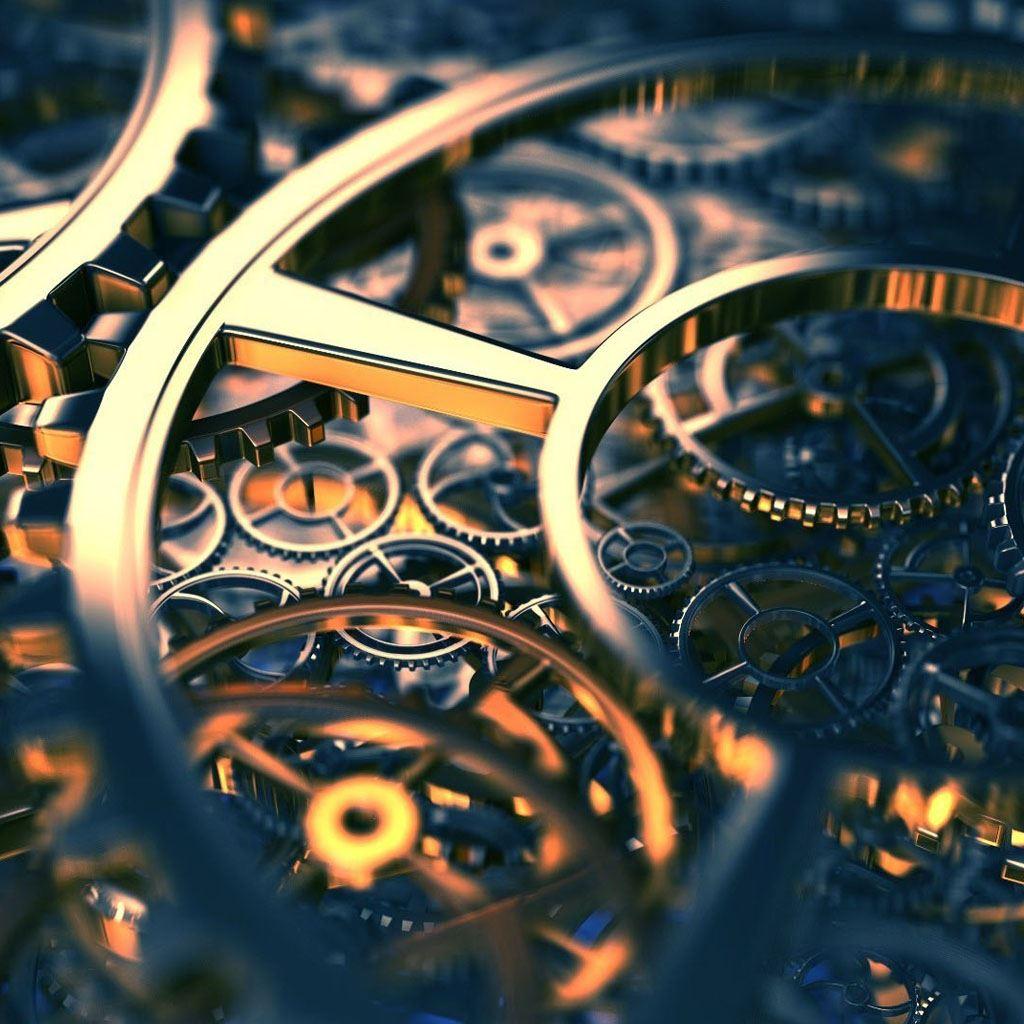 Gears 3d IPad Wallpaper Download