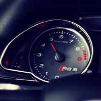 Audi Rs5 Dashboard iPad wallpaper