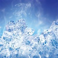Ice Crystal iPad wallpaper