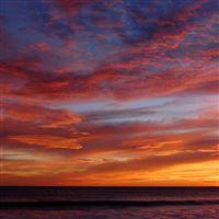 Wonderful Sunset iPad wallpaper