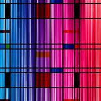 Rainbow Grid Abstract iPad wallpaper