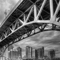 HDRI Bridge iPad wallpaper