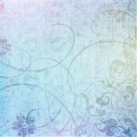 Abstract Floral iPad wallpaper