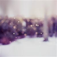 Winter Day Bokeh Gradation Blur iPad wallpaper