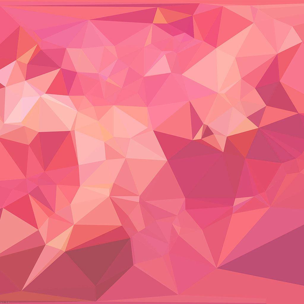 Triangle Geometry Pinkupinku Patterns IPad Wallpaper