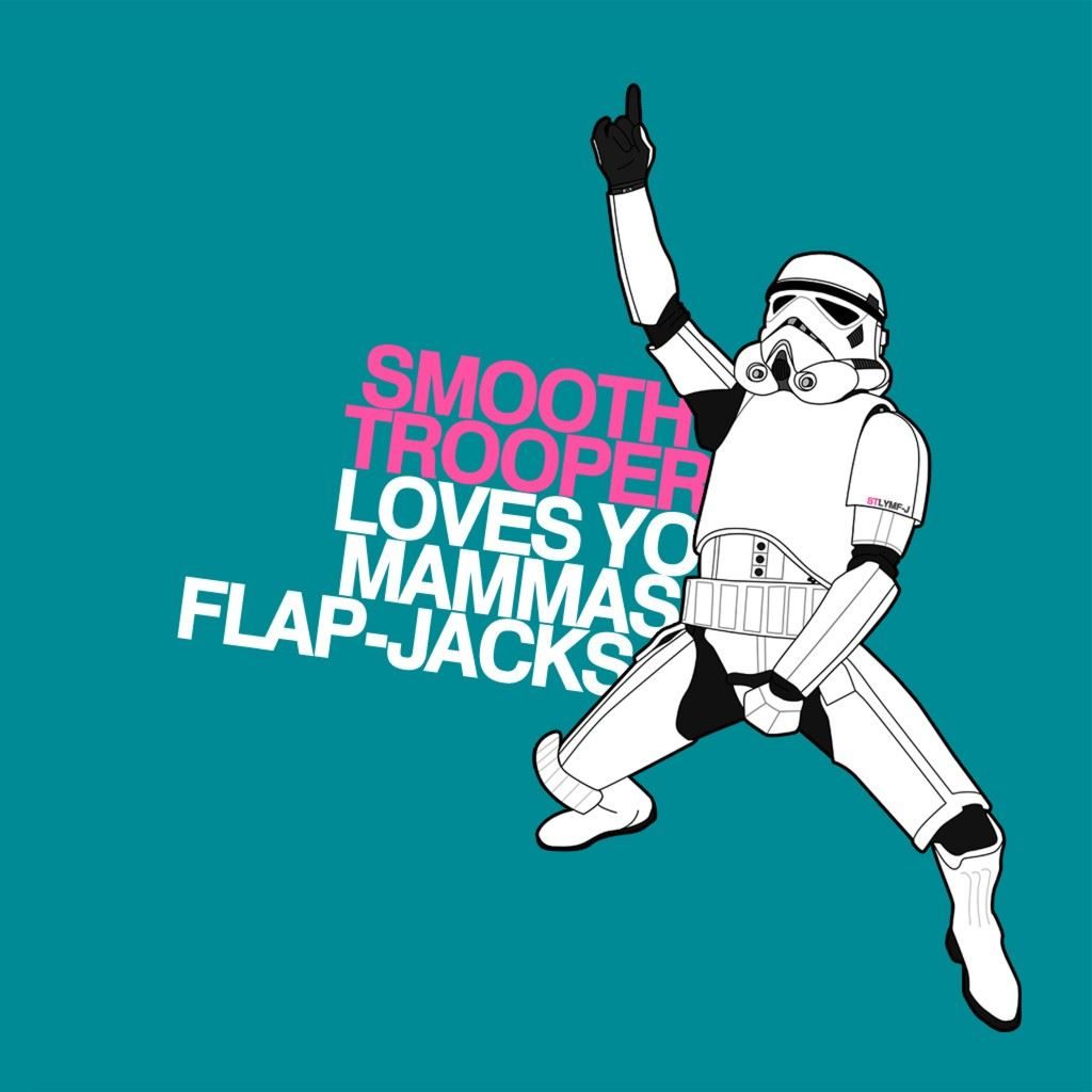Fun Trooper  iPad wallpaper