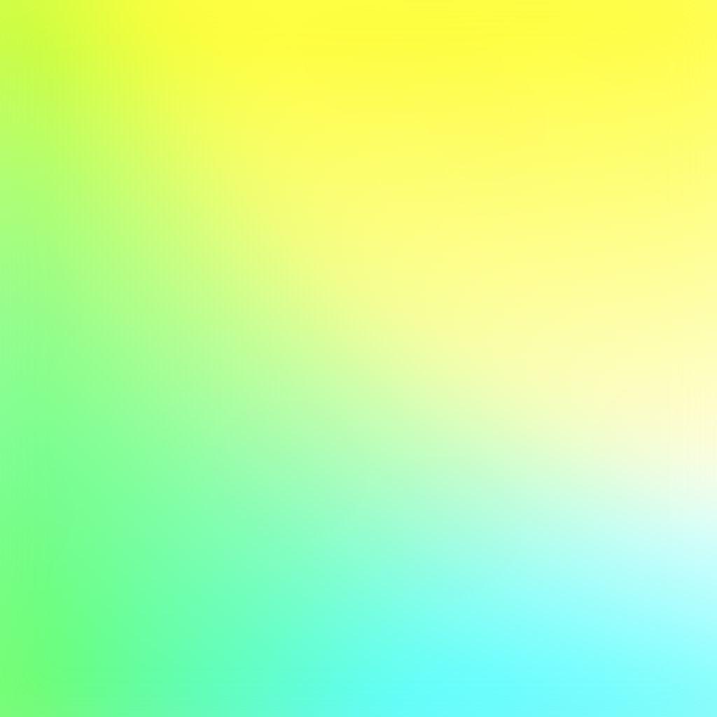 Bright Yellow Neon Green Sunny Gradation Blur IPad Wallpaper