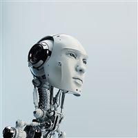 Artificial Intelligence Art 3D Illustration iPad wallpaper