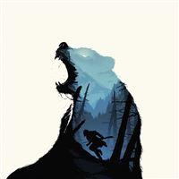 Revenant Dicaprio Poster Film Art Bear iPad wallpaper