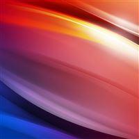 Rainbow Art Curve Abstract Pattern iPad wallpaper