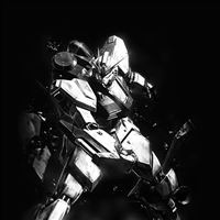 Gundam RX Illust Toy Space Art Dark iPad wallpaper