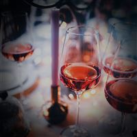Party Wine Glass City Life Love Food Flare Vignette iPad wallpaper