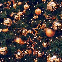 156 0 Decoration Holiday Christmas Illustration Art Gold IPad Wallpaper
