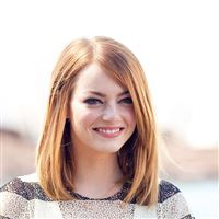 Emma Stone Smile Celebrity Film iPad wallpaper