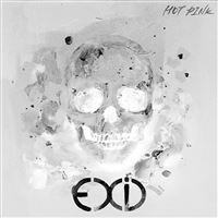 Kpop Exid Cover Skull White Art Illustration iPad wallpaper
