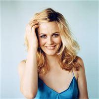 Girl Actress Celebrity Blonde iPad wallpaper