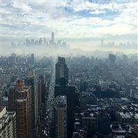 City Builiding Architecture Newyork Nature iPad wallpaper
