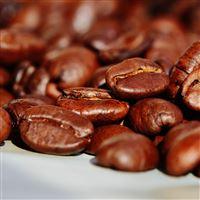 Coffee Beans Macro Roasted iPad wallpaper