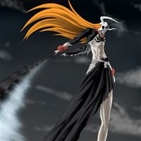 Bleach Ichigo Sword Hollow Wave Weapons iPad wallpaper
