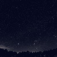 Space Sky Night Dark Nature Bw iPad wallpaper