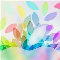 Apple Color Logo Illustration Art iPad wallpaper
