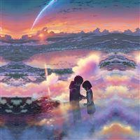 Yourname Anime Film Iillustration Art iPad wallpaper