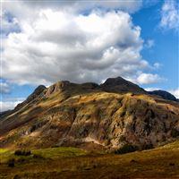 Cumbria England Sky Mountain Cloud iPad wallpaper