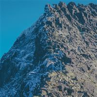 Rock Mountain Nature Summer iPad wallpaper