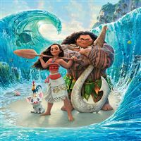 Moana Disney Art Sea Anime Illustration Art iPad wallpaper