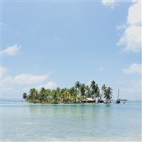 Island Summer Sea Beach Vacation Holiday iPad wallpaper