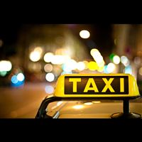 Taxi light bokeh iPad wallpaper