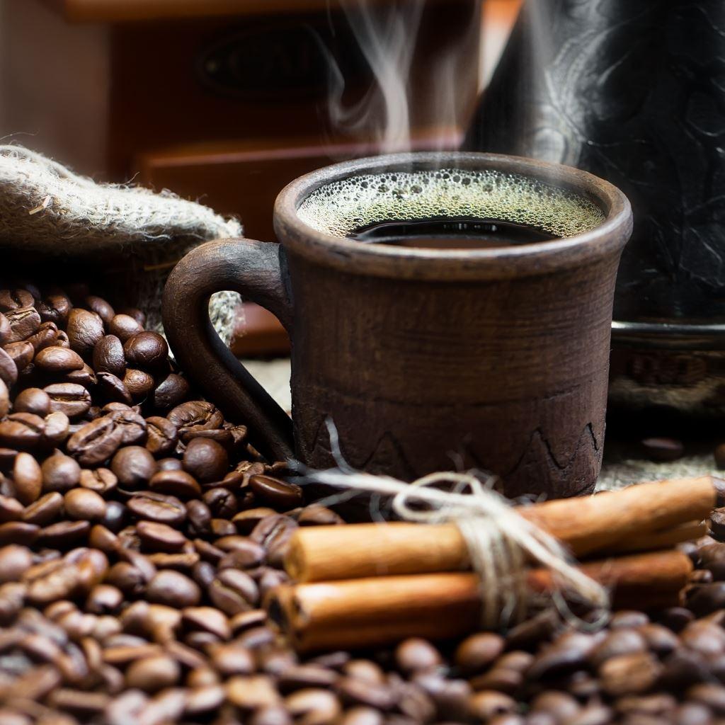 Coffee cinnamon iPad wallpaper
