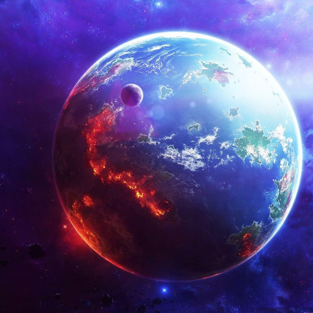 Star wars fiction planet iPad wallpaper