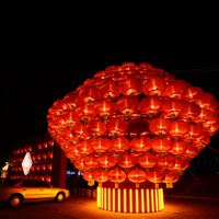 Lantern Festival in China iPad wallpaper
