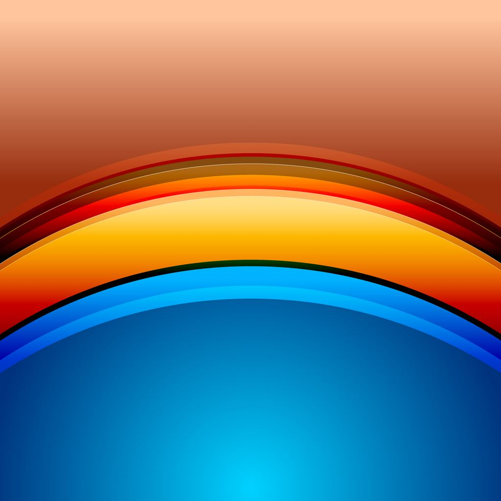 Rainbow bridge iPad wallpaper