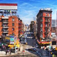 New York buildings traffic iPad wallpaper