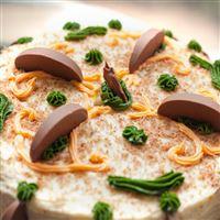 Cake dessert sweet cream chocolate iPad wallpaper
