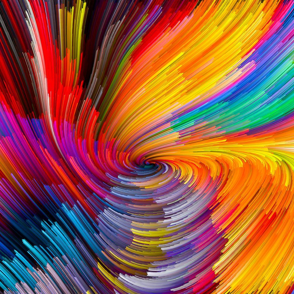 Abstract line color rainbow pattern background iPad wallpaper