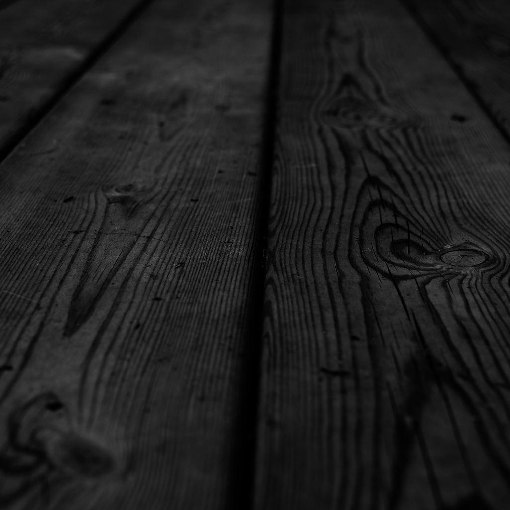 Black Wood IPad Wallpaper