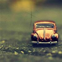 Volkswagen beetle toy iPad wallpaper