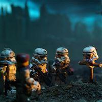 Star Wars Lego Soldiers iPad wallpaper